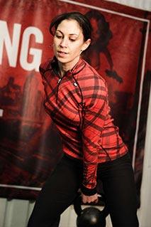 Mayyah Schalchi Commando Temple Strongwoman training Gym Greenwich London