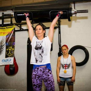 Max log lift at Britain's Strongest Woman