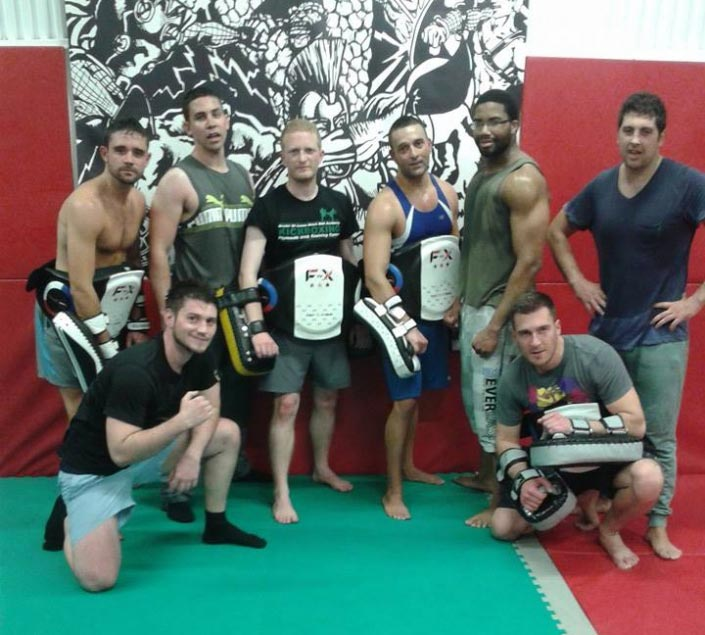 Commando Temple Gym Greenwich London Muay Thai Classes