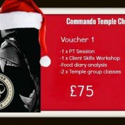 Commando Temple Christmas Voucher