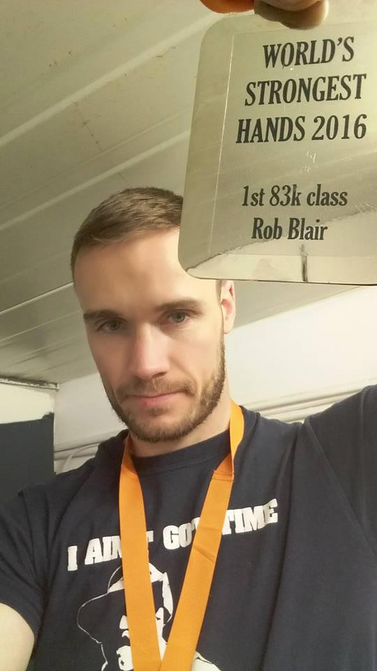 Rob Blair World's Strongest Hands