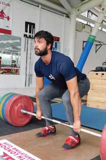 Adam Warwicker Olympic Weightlifting