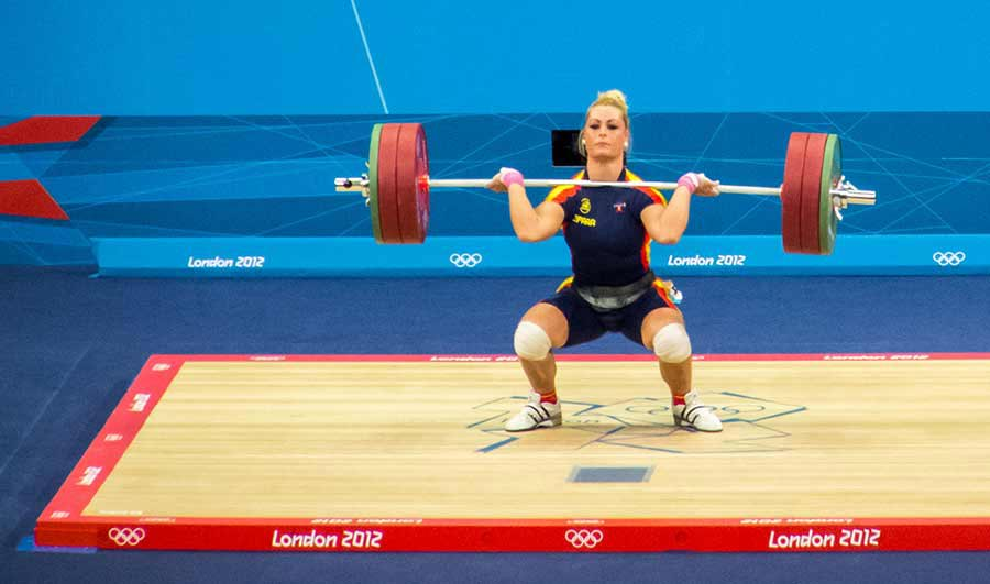 Olympics 2012 Women's 75kg Weightlifting