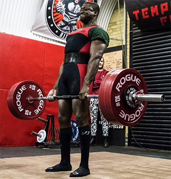London Powerlifting Club at The Commando Temple
