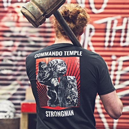 Commando Temple T Shirts 07