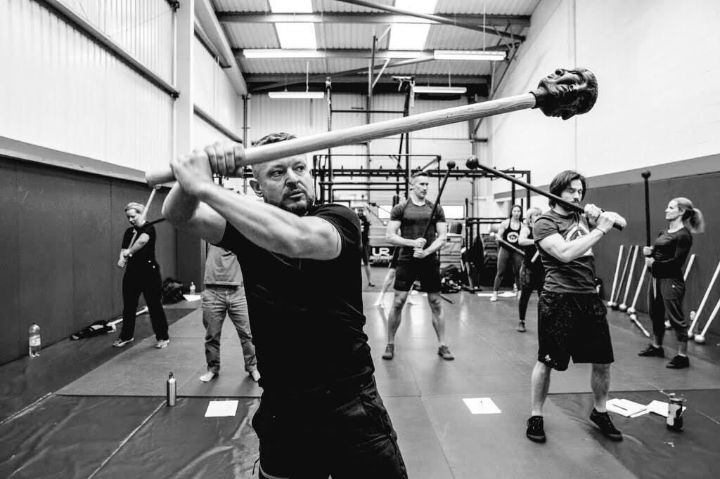 Matt Shore Commando Temple Coach Macebell Workshop