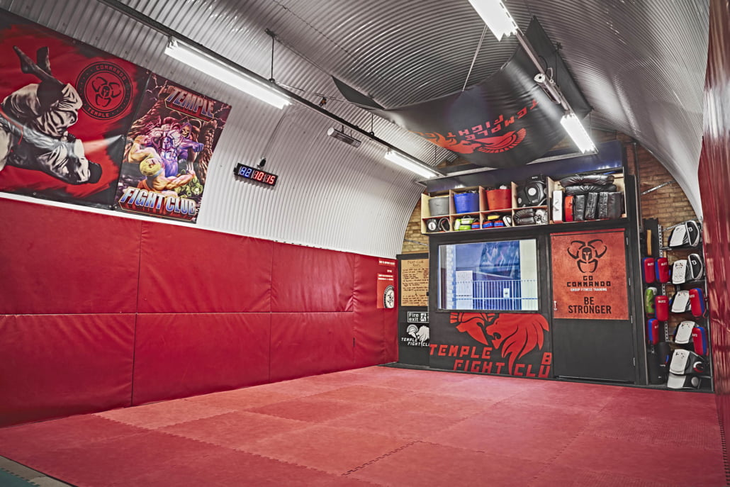 Fight Club Mats Commando Temple