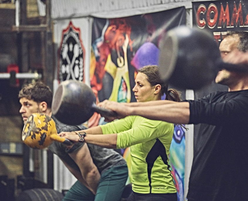 Kettlebell Classes Commando Temple