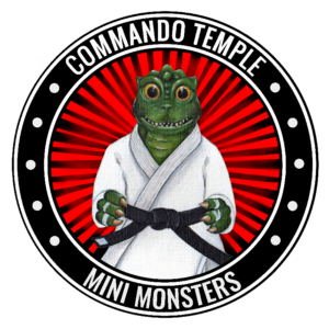 Mini Monsters Commando Temple Kids Judo