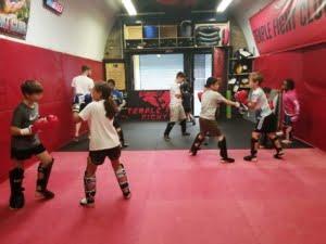 Commando Temple Kids Muay Thai London 1
