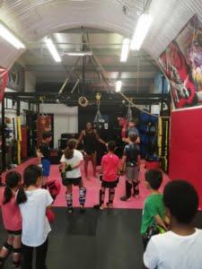 Commando Temple Kids Muay Thai London 2