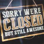 Restaurants Temporarily Closed Due To Coronavirus Closed Sign 17032020123324