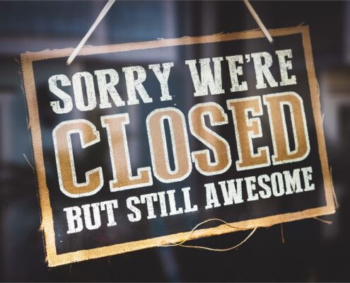 Restaurants Temporarily Closed Due To Coronavirus Closed Sign 17032020123324
